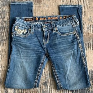 Rock revival women's skinny jeans size 27 Betty